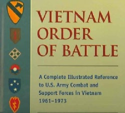 Vietnam Order of Battle: A Complete Illustrated Reference to U.S. Army Combat and Support Forces in Vietnam 1961-... (Hardcover)