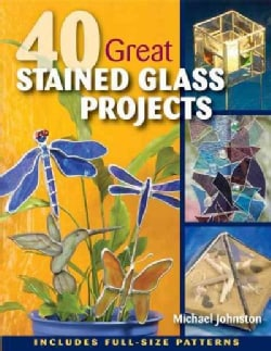 40 Great Stained Glass Projects (Paperback)