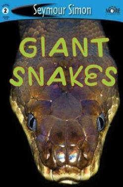 Giant Snakes (Paperback)