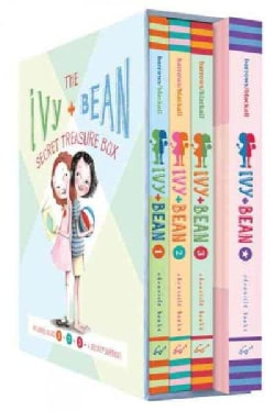 Ivy + Bean Secret Treasure Box: Books 1, 2, and 3 and a Cool Secret Surprise! (Paperback)