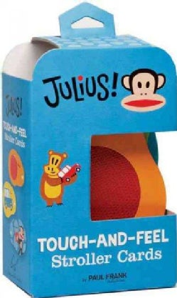 Julius! Touch-and-Feel Stroller Cards (Board book)