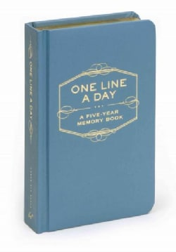 One Line a Day: A Five-year Memory Book (Notebook / blank book)