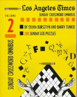 Los Angeles Times Sunday Crosswords Omnibus (Paperback)