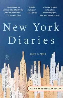 New York Diaries: 1609 to 2009 (Paperback)