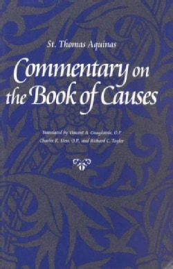 Commentary on the Book of Causes (Paperback)
