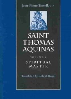 Saint Thomas Aquinas: Spiritual Master (Paperback)