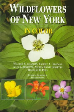 Wildflowers of New York in Color (Paperback)