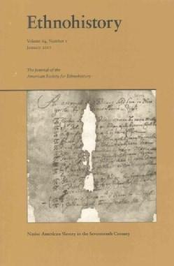 Ethnohistory: Native American Slavery in the Seventeenth Century (Paperback)