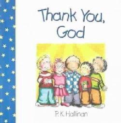 Thank You, God (Board book)