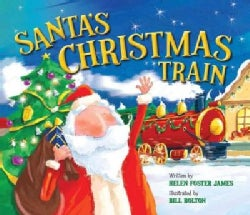 Santa's Christmas Train (Hardcover)