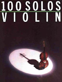 100 Solos Violin (Paperback)