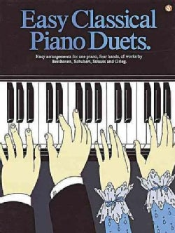 Easy Classical Piano Duets (Paperback)