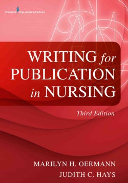 Writing for Publication in Nursing (Paperback)