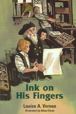 Ink on His Fingers (Paperback)