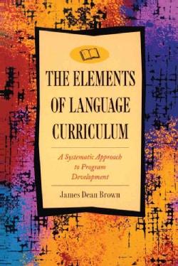 Elements of Language Curriculum (Paperback)