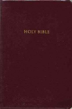 Holy Bible/King James Version/Personal Size Giant Print/544Bg/Burgundy Bonded Leather (Paperback)