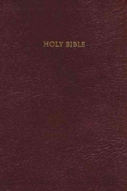 Holy Bible Reference Edition King James Version (Hardcover)