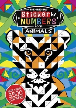 The Original Sticker by Numbers Book Animals (Paperback)
