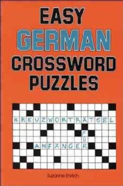 Easy German Crossword Puzzles (Paperback)