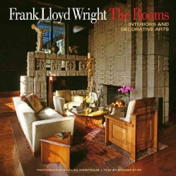 Frank Lloyd Wright The Rooms: Interiors and Decorative Arts (Hardcover)