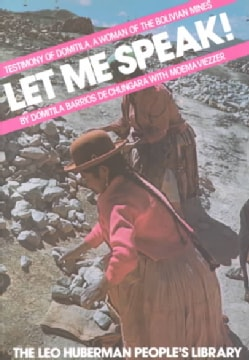 Let Me Speak (Paperback)