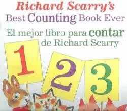 Richard Scarry's Best Counting Book Ever/ El Mejor Libro Para Contar de Richard Scarry (Paperback)