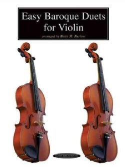 Easy Baroque Duets for Violin (Paperback)