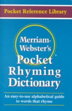 Merriam-Webster's Pocket Rhyming Dictionary (Paperback)