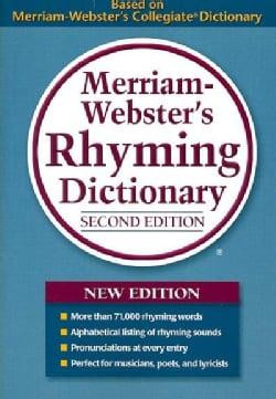 Merriam-Webster's Rhyming Dictionary (Paperback)