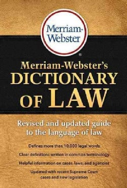 Merriam-Webster's Dictionary of Law (Paperback)