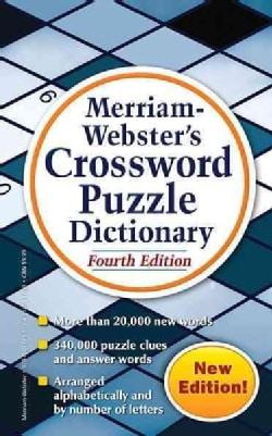 Merriam-Webster's Crossword Puzzle Dictionary (Paperback)