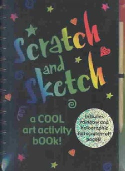 Scratch and Sketch: A Cool Art Activity Book! (Hardcover)