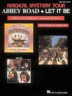 Beatles Magical Mystery Tour, Abbey Road, Let It Be (Paperback)