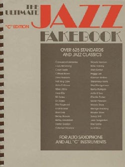 The Ultimate Jazz Fake Book C Edition (Paperback)