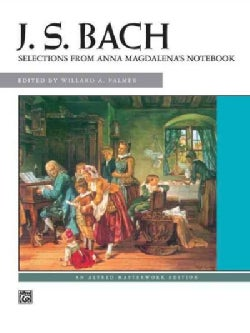 J. S. Bach: Selections from Anna Magdalena's Notebook (Paperback)