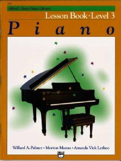 Alfred's Basic Piano Library Lesson Book: Level 3 (Paperback)