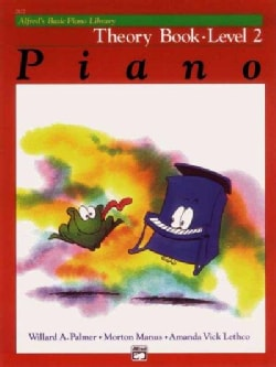 Alfred's Basic Piano Library Theory Book: Level 2 (Paperback)