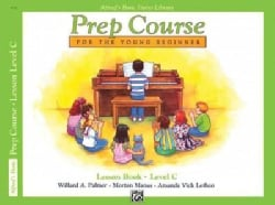 Alfred's Basic Piano Library Prep Course, Lesson Book Level C: For the Young Beginner (Paperback)