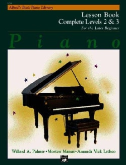 Alfred's Basic Piano Library: Piano Lesson Book, Complete Levels 2 & 3 for the Later Beginner (Paperback)