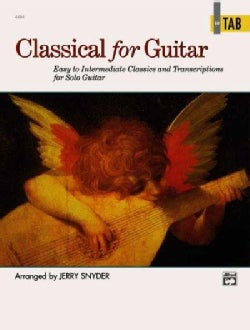 Classical for Guitar in Tab (Paperback)