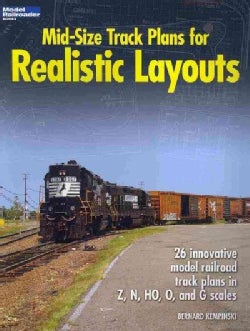 Mid-Size Track Plans for Realistic Layouts (Paperback)