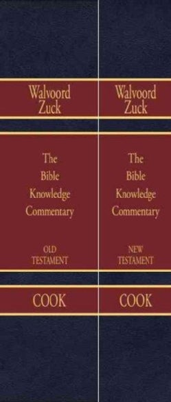 Bible Knowledge Commentary Old Testament and New Testament (Hardcover)