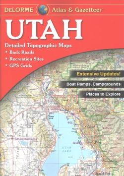 Utah Atlas & Gazetteer (Paperback)