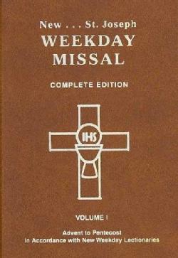 New St. Joseph Weekday Missal: Advent to Pentecost (Paperback)