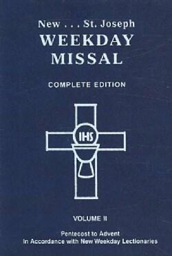 St. Joseph Weekday Missal: Pentecost to Advent (Paperback)