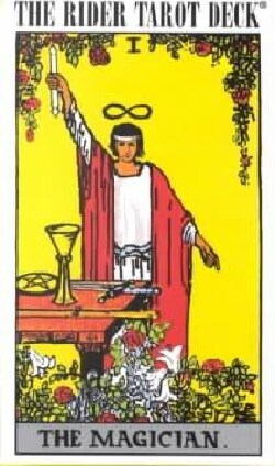 The Rider Tarot Deck (Cards)