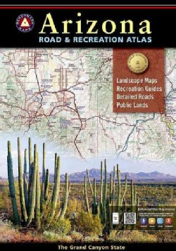 Benchmark Arizona Road & Recreation Atlas (Paperback)