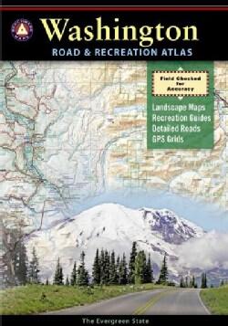 Benchmark Washington Road & Recreation Atlas (Paperback)