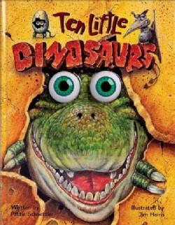Ten Little Dinosaurs (Hardcover)