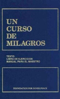 Un Curso de Milagros/ A Course in Miracles (Hardcover)